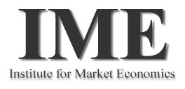 Institute for Market Economics logo