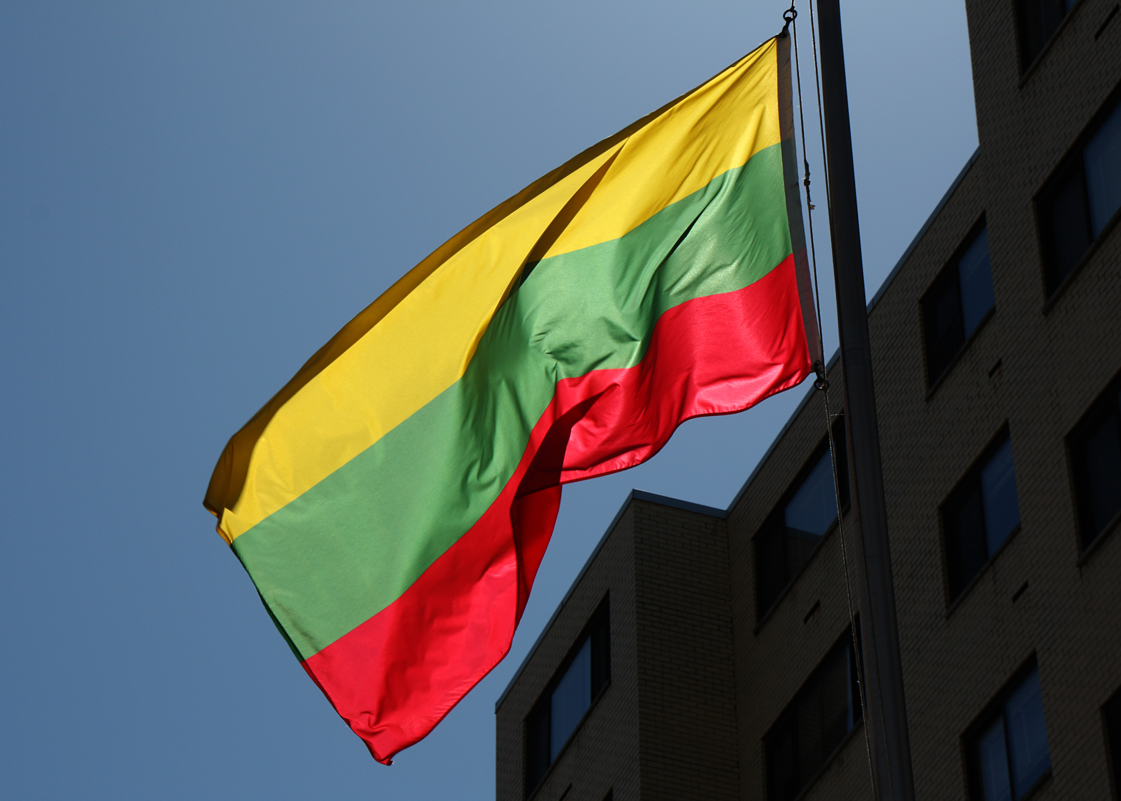 Flag_at_the_Embassy_of_Lithuania_in_Washington,_DC
