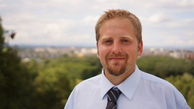 Vít Jedlička, the President of Liberland. Wikimedia Commons