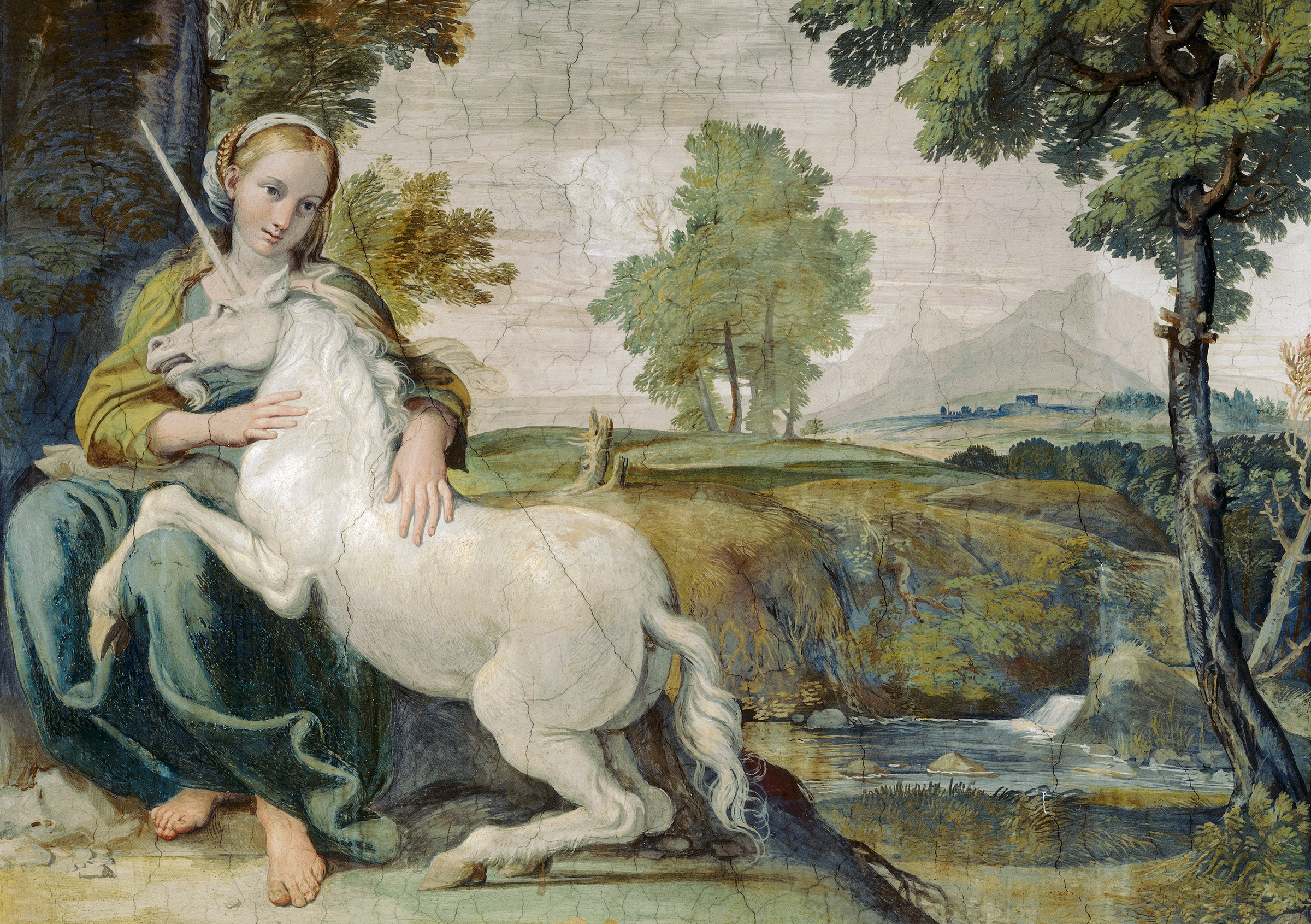 The Maiden and the Unicorn by Domenichino