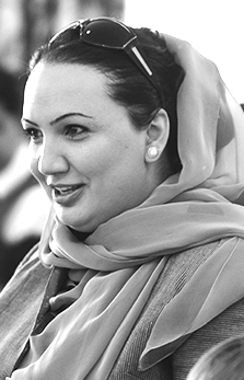 Shukria Barakzai - Afghan Ambassador to Estonia, feminist and journalist