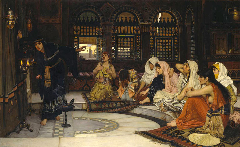John_William_Waterhouse_-_Consulting_the_Oracle_-_Tate_Britain