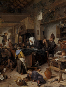 791px-Jan_Steen_-_A_School_for_Boys_and_Girls_-_Google_Art_Project