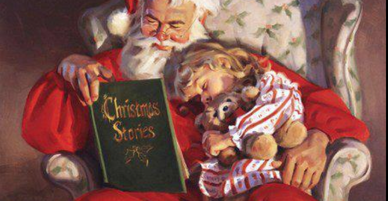 christmas-santa-book-reading-holiday