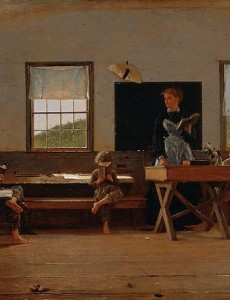 800px-Winslow_Homer_-_The_Country_School