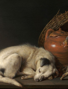 800px-Gerrit_Dou_(Dutch,_1613–1675),_Sleeping_Dog,_1650._Oil_on_panel