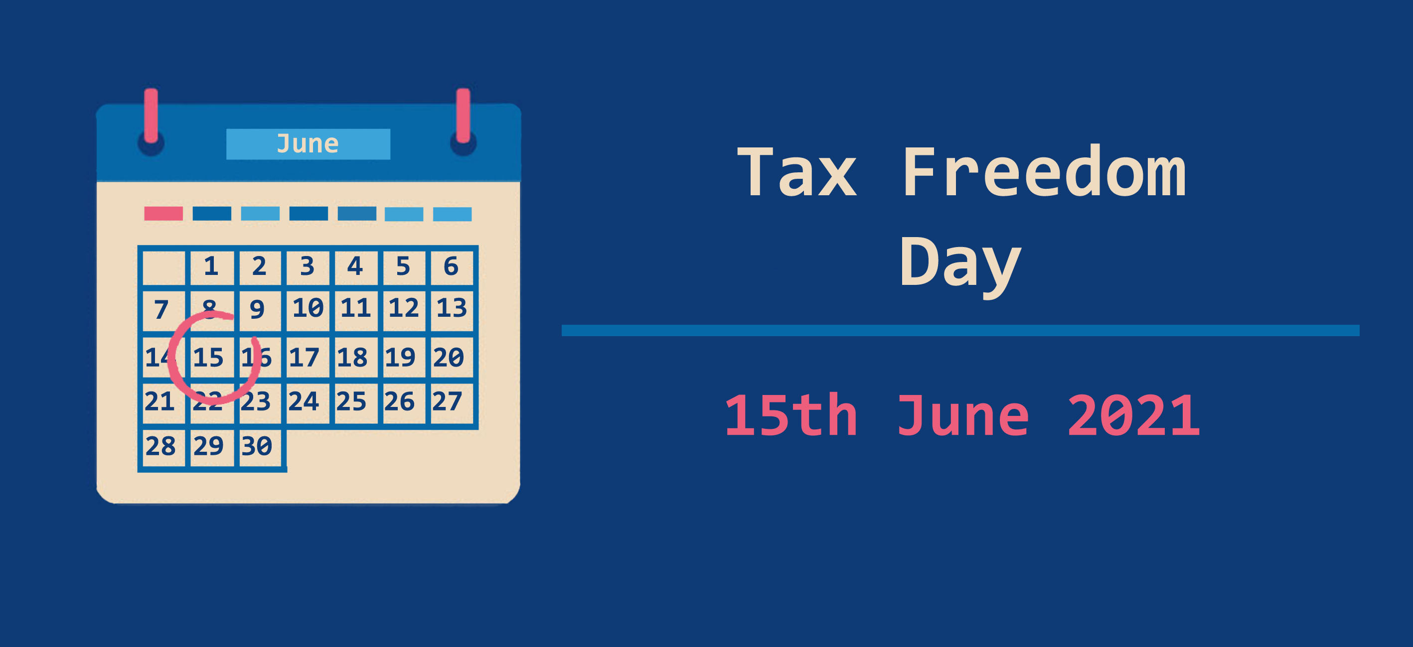 Tax Freedom day cover